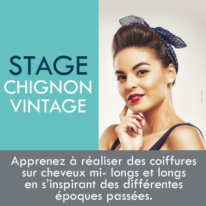 Formation Chignon Vintage