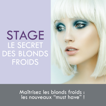 Formation blond froid
